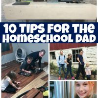 10 Tips for the Homeschool Dad