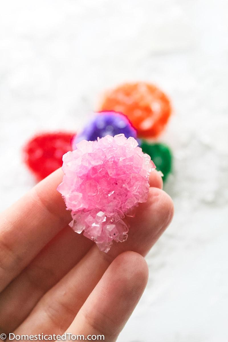 pink borax crystal