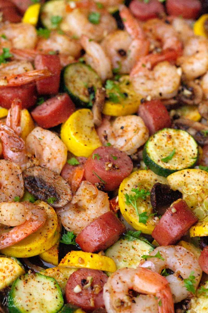Cajun Shrimp & Sausage
