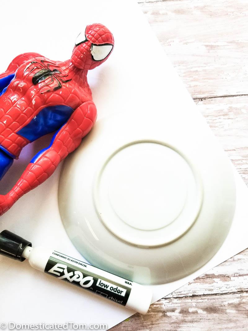 spiderman lesson plan